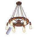 billiga Ljusdesign-OYLYW 8-Light Industriell Hängande lampor Glödande Målad Finishes Metall Ministil 110-120V / 220-240V Glödlampa inte inkluderad / E26 / E27