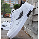ราคาถูก จิ๊กซอว์3D-สำหรับผู้ชาย รองเท้าสบาย ๆ PU ฤดูหนาว รองเท้าผ้าใบ สีดำ / สีดำและสีขาว / ขาวและน้ำเงิน / กลางแจ้ง