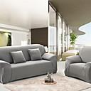Χαμηλού Κόστους Κάλυμμα Καναπέ-slipcovers κάλυμμα καναπέ γκρι στερεό χρωματιστό ψηλό κούμπωμα αντιδραστική εκτύπωση κάλυμμα καναπέ από πολυεστέρα