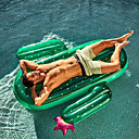billige Katteleker-Oppblåsbare bassengleker PVC Holdbar Oppblåsbar Svømming Vannsport til Voksen 180*140*20 cm