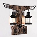 זול מנורות שולחן-עיצוב חדש / מגניב LED / מודרני / עכשווי מנורות קיר סלון עץ / במבוק אור קיר 220-240V 20 W