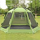 ราคาถูก เต้นท์และเต้นท์ผ้าใบกันแดด-Shamocamel® 7 คน useless กลางแจ้ง กันลม กันน้ำฝน ดับเบิล นาฬิกาไขลาน (Automatic) Dome เต็นท์แคมปิ้ง >3000 mm สำหรับ แคมป์ปิ้ง / การปีนเขา / เที่ยวถ้ำ Terylene อลูมิเนียมอัลลอยด์ 368*368*190 cm