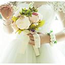 ราคาถูก ดอกไม้งานแต่งงาน-ดอกไม้สำหรับงานแต่งงาน ช่อดอกไม้ / กลีบดอกไม้ งานแต่งงาน ซาติน / ผ้า / ดอกไม้และบาก 11-20ซม.
