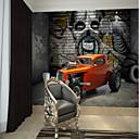 povoljno Zidne tapete-hip-hop pozadina i karta automobila po mjeri zidne obloge 3D zidne pozadine prikladne za uredsku spavaću sobu