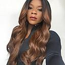 זול פיאות תחרה משיער אנושי-שיער ראמי חזית תחרה פאה Rihanna בסגנון שיער ברזיאלי גלי Body Wave Ombre פאה 130% צפיפות שיער בגדי ריקוד נשים ארוך פיאות תחרה משיער אנושי beikashang