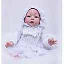 Χαμηλού Κόστους Κούκλες σαν αληθινές-OtardDolls Κούκλες σαν αληθινές Κορίτσι κορίτσι Μωρά Κορίτσια 22 inch Σιλικόνη - Νεογέννητος όμοιος με ζωντανό Φιλικό προς το περιβάλλον Δώρο Χειροποίητο Ασφαλής για παιδιά Παιδικά Κοριτσίστικα