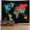 זול שטיחי קיר-מצחיק / חופשה קיר תפאורה פּוֹלִיאֶסטֶר קלסי / וינטאג' וול ארט, קיר שטיחי קיר תַפאוּרָה