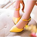 Χαμηλού Κόστους Γυναικείες Γόβες-Γυναικεία Τακούνια Τακούνι Στιλέτο PU Ανατομικό Καλοκαίρι Μαύρο / Λευκό / Κίτρινο / Καθημερινά