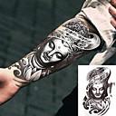 billiga tatuering klistermärken-3 pcs Tatueringsklistermärken tillfälliga tatueringar Totemserier Body art