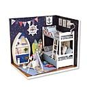 ราคาถูก บ้านตุ๊กตา-Dukkehus Creative DIY ประณีต Mini เฟอร์นิเจอร์ ทำด้วยไม้ ของเด็ก เด็กผู้หญิง Toy ของขวัญ