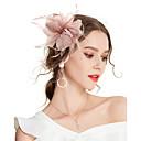 povoljno Party pokrivala za glavu-Žene Kentucky Derby Vintage Elegantno Tekstil Kubični Zirconia Šeširi Vjenčanje Party - Jednobojni / Sva doba
