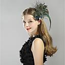 povoljno Stare svjetske nošnje-The Great Gatsby Čarlston Vintage 1920s Vruće dvadesete Traka za kosu u stilu 20-ih Žene Kostim Šeširi Plava Vintage Cosplay Party Prom