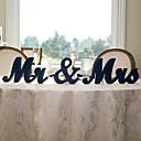 baratos Quebra-Cabeças de Madeira-De madeira N / A Decoração cerimônia - Casamento Casamento
