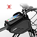 povoljno Torbice za okvir-CoolChange Mobitel Bag Bike Frame Bag 6.0/6.2 inch Touch Screen Vodootporno Dvostruki IPouch Biciklizam za iPhone 7 iPhone 8 Plus / 7 Plus / 6S Plus / 6 Plus iPhone X Crn Mountain Bike / iPhone XR
