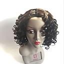 Χαμηλού Κόστους Εξτένσιος μαλλιών με φυσικό χρώμα-Remy Τρίχα Σχήμα U Περούκα Κούρεμα με φιλάρισμα στυλ Βραζιλιάνικη Κυματιστό Μαύρο Περούκα 180% Πυκνότητα μαλλιών με τα μαλλιά μωρών Φυσική γραμμή των μαλλιών Για μαύρες γυναίκες Γυναικεία Μεσαίο