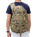 preiswerte Fitness, Laufen & Yoga-Bekleidung-55 L Wanderrucksack Militärischer taktischer Rucksack Wasserdicht Rasche Trocknung Verschleißfestigkeit Außen Wandern Camping Nylon Schwarz Camouflage