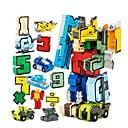 ราคาถูก บล็อกอาคาร-Building Blocks ของเล่นชุดก่อสร้าง ของเล่นการศึกษา 15 pcs Robot หุ่นยนต์แปลงจำนวน ที่เข้ากันได้ Legoing Creative เด็กผู้ชาย เด็กผู้หญิง Toy ของขวัญ