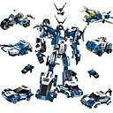 ราคาถูก บล็อกอาคาร-Building Blocks ของเล่นชุดก่อสร้าง ของเล่นการศึกษา 577 pcs รถยนต์ Robot เครื่องบิน ที่เข้ากันได้ Legoing transformable เด็กผู้ชาย เด็กผู้หญิง Toy ของขวัญ