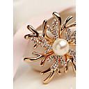 billiga Nålar och broscher-Dam Broscher Mode Elegant Brosch Smycken Guld / Rosa Till Bröllop Party