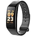 billige Smart armbånd-Smart armbånd C1S til iOS / Android Vanntett / Blodtrykksmåling / Kalorier brent / Pekeskjerm / Kreativ Pedometer / Samtalepåminnelse / Aktivitetsmonitor / Søvnmonitor / Stillesittende sittende