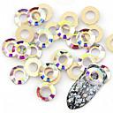 billige Sminkebørstesett-10 pcs Artificial Nail Tips Nail Art Kit Negle Smykker Stilig Design / Kreativ Neglekunst Manikyr pedikyr Dagligdagstøy Stilfull / Nail Smykker