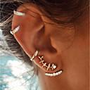 olcso Divat fülbevalók-Női Beszúrós fülbevalók Elöl is és hátul is stílusos fülbevalók Helix fülbevaló Kézelő Halak Nyilatkozat hölgyek Vintage Divat Csing Csing Fülbevaló Ékszerek Arany Kompatibilitás Szabadság Bár 4db