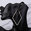Χαμηλού Κόστους Σκουλαρίκια-Γυναικεία Κρίκοι Stea Κλασσικό Βασικό Σκουλαρίκια Κοσμήματα Χρυσό Για Καθημερινά Αργίες