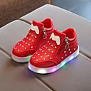 Χαμηλού Κόστους LED Παπούτσια-Αγορίστικα / Κοριτσίστικα LED / Μποτίνι / Φωτιζόμενα παπούτσια PU Μπότες Νήπιο (9m-4ys) / Τα μικρά παιδιά (4-7ys) / Μεγάλα παιδιά (7 ετών +) Αλυσίδα / LED Μαύρο / Λευκό / Κόκκινο Άνοιξη & Χειμώνας