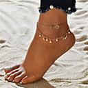 povoljno Modne ogrlice-Žene Kratka čarapa Csillag dame Boemski stil Moda Boho Imitacija bisera Kratka čarapa Jewelry Zlato beskraj Za Izlasci Bikini