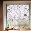 Χαμηλού Κόστους Μεμβράνη Παραθύρου & Αυτοκόλλητα-Window Film & αυτοκόλλητα Διακόσμηση Ματ / Σύγχρονο 3D Εκτύπωση PVC Αυτοκόλλητο παραθύρου / Ματ