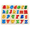 billiga Läsleksaker-Läsleksak Bokstav Föräldra-Barninteraktion Trä Småbarn Alla Pojkar Flickor Leksaker Present 1 pcs