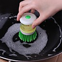 ราคาถูก อุปกรณ์ทำความสะอาดห้องครัว-ครัว อุปกรณ์ทำความสะอาด ABS + PC สำลีสำหรับทำความสะอาดและแปรง เครื่องมือ / Gadget ครัวสร้างสรรค์ 1pc