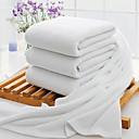 זול מגבות מקלחת-איכות מעולה מגבת אמבטיה, אחיד פולי / כותנה 3 pcs
