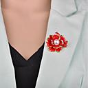 Χαμηλού Κόστους Πίνακες με Λουλούδια/Φυτά-Γυναικεία Καρφίτσες 3D Λουλούδι κυρίες Βίντατζ Ευρωπαϊκό Απομίμηση Μαργαριταριού Καρφίτσα Κοσμήματα Μαύρο Κόκκινο Για Βραδινό Πάρτυ Γραφείο & Καριέρα