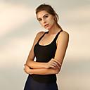 Χαμηλού Κόστους Εσωτερική Άσκηση-Γυναικεία Αθλητικό σουτιέν Αθλητικά Σουτιέν Τοπ σουτιέν Patchwork Spandex Γιόγκα Τρέξιμο Φυσική Κάτάσταση Αναπνέει Υψηλή επίδραση Γρήγορο Στέγνωμα Ενισχυμένο Suport Puternic Μαύρο Μπλε