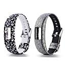 billiga Tvättställsblandare-Klockarmband för Vivofit 4 Garmin Sportband Silikon Handledsrem