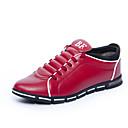 povoljno Muške tenisice-Muškarci Udobne cipele PU Jesen Sneakers Crn / Braon / Crvena / Vanjski / EU40