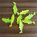 billiga Nagelpenslar-15 pcs Mjukt bete Fiskbete Mjukt bete Lätt att bära Lättvikt Sjunker Bass Forell Gädda Sjöfiske Kastfiske Färskvatten Fiske PP (Polypropen) / Karpfiske / Drag-fiske / Generellt fiske