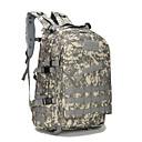 ราคาถูก กระเป๋านักล่า-40 L แบ็คแพ็ค กระเป๋าเป้ยุทธวิธีทหาร กันน้ำ Lightweight 3D Pad ความต้านทานการสึกหรอ กลางแจ้ง แคมป์ปิ้ง & การปีนเขา การล่าสัตว์ การปีนหน้าผา ผ้าออกซ์ฟอร์ด 600D Rough Black สีกากี สีน้ำเงินและสีดำ