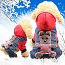 ราคาถูก เสื้อผ้าสำหรับสุนัข-หนู สุนัข แมว เสื้อโค้ต Dog Clothes สีเหลือง แดง เครื่องแต่งกาย Husky สุนัข Labrador Alaskan Malamute ฝ้าย สัตว์ คาร์แรคเตอร์ กิจกรรมกลางแจ้งและกีฬา หมวกไหมพรมถัก XS S M L XL XXL