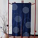 billige Veggladere-Dørpanelet Gardiner Gardiner Stue Geometrisk Bomull / Polyester Trykket