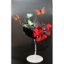 זול הד פיס למסיבות-פלנלית / קֶצֶף ביגוד לראש / אביזר לשיער עם כובע / פרח 1pc חתונה / אירוע מיוחד כיסוי ראש