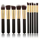 billige Fiskesluker & fluer-Profesjonell Makeup børster Børstesett 10pcs Økovennlig Profesjonell Myk Tre / Bambus til