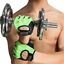 billige Treningsutstyr og tilbehør-Treningshansker Silikon Justerbar Anti Glide Pustende Trening Vern Trening & Fitness Treningsøkt Bodybuilding Til Herre Dame hender
