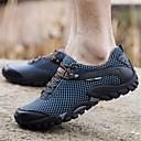 ราคาถูก รองเท้าและอุปกรณ์เสริม-สำหรับผู้ชาย รองเท้าเดินป่า กันน้ำ ระบายอากาศ ป้องกันการลื่นล้ม การอัด การปีนหน้าผา ข้ามประเทศ เดินเท้า ฤดูใบไม้ร่วง ฤดูร้อน สีน้ำตาล สีแดงเบอร์กันดี ฟ้า