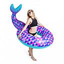 billige Katteleker-Oppblåsbare bassengleker PVC Holdbar Oppblåsbar Svømming Vannsport til Voksen 188*122*60 cm