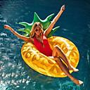 billige Sparegriser-Ananas Oppblåsbare bassengleker PVC Holdbar Oppblåsbar Svømming Vannsport til Voksen 180*80 cm