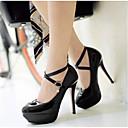povoljno Ženske cipele s petom-Žene Cipele na petu Stiletto potpetica PU Udobne cipele Proljeće Obala / Crn / Pink / Dnevno / EU36