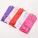 povoljno Party rukavice-spandex tkanina Do zapešća Rukavica Vintage Style / Rukavice S Jedna boja