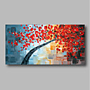 povoljno Apstraktno slikarstvo-Hang oslikana uljanim bojama Ručno oslikana - Sažetak Comtemporary Moderna Uključi Unutarnji okvir / Prošireni platno